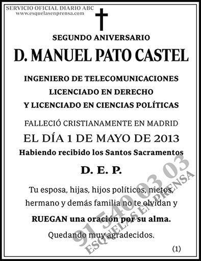 Manuel Pato Castel